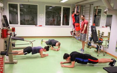 1er entraînement de condition physique