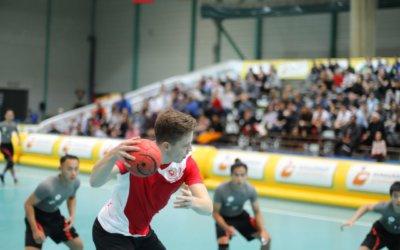 Participation au Tchoukball Geneva Indoors