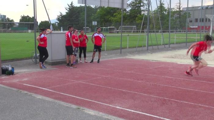 Reportage Léman Bleu sur les athlètes du CRTG