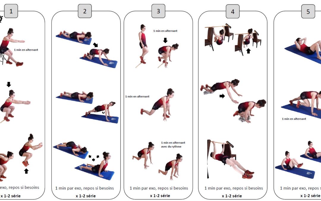 Un programme d'entraînement proposé par Alonso Ormeño – entraîneur du CRTG